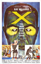 The Man with the X-Ray Eyes 1963 DVD - Ray Milland / Diana Van der Vlis